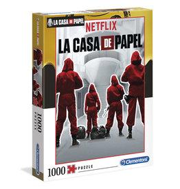 CLEMENTONI Netflix - La Casa De Papel puzzel 1000 st.