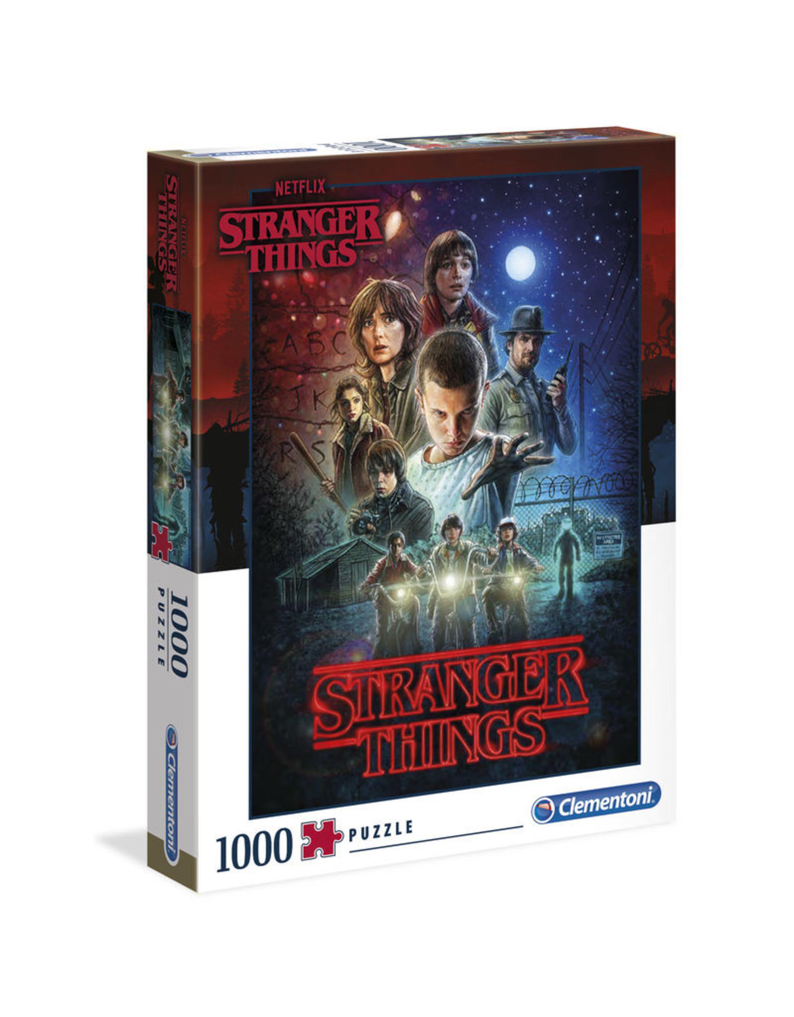 CLEMENTONI Stranger Things Poster Season 1 puzzel 1000 st.
