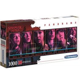 CLEMENTONI Stranger Things Panorama puzzel 1000 st.
