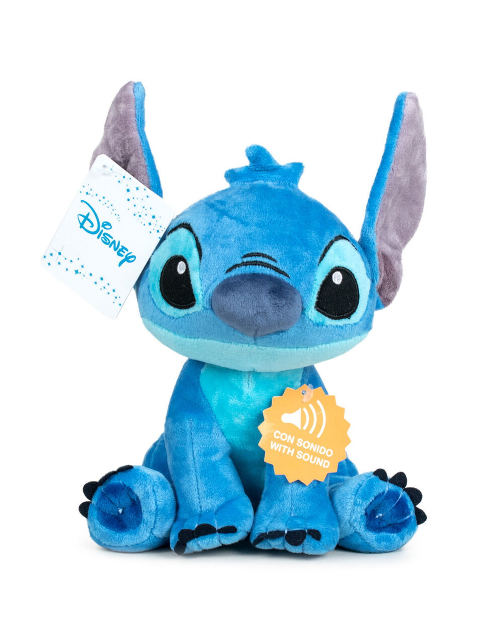 DISNEY Disney Stitch knuffelbeer with sound 30cm