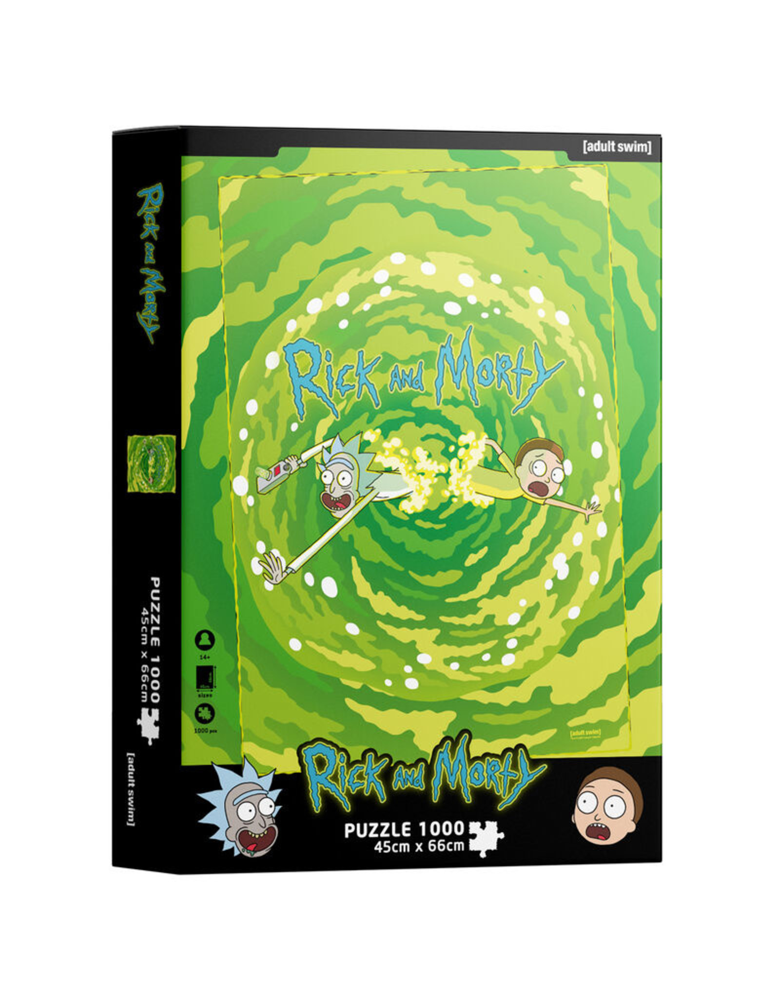 SD TOYS Rick and Morty Portal puzzel 1000 st.