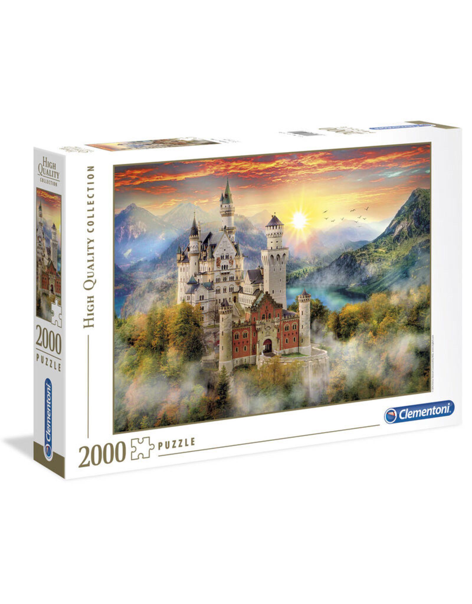 CLEMENTONI Neuschwanstein puzzel 2000 st.