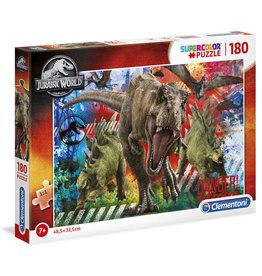 CLEMENTONI Jurassic World puzzel 180 st.