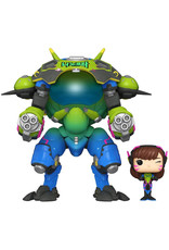 FUNKO Games - Overwatch - Nano Cola D.Va with Mech - Exclusive Special Edition 15cm