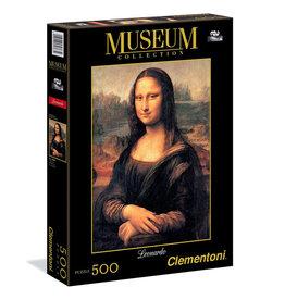 CLEMENTONI Museum Collection Leonardo Mona Lisa puzzel 500 st.