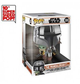 FUNKO Star Wars - The mandalorian with the child - Super Sized 25cm