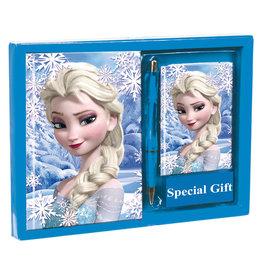 PERONA Frozen set dagboek + adresboek + pen