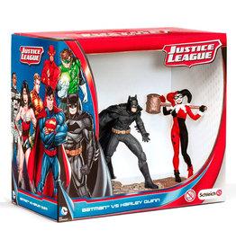 SCHLEICHS DC Comics - Justice League Batman Vs. Harley Quinn Figures