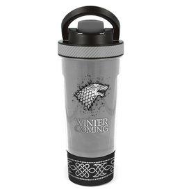 STOR Game of Thrones Stark Shaker Fles 850ml - Winter is coming