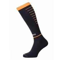 Horizon Sport Compressiekousen - Zwart / Oranje