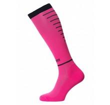Horizon Sport Compressiekousen - Roze / Zwart