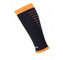 Horizon Calf Sleeves - Zwart / Oranje