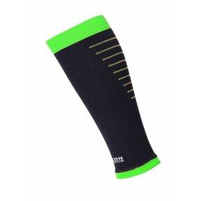 Calf Sleeves - Zwart / Groen