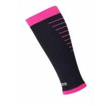 Horizon Calf Sleeves - Zwart / Roze