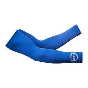 Competition Compressie Arm Sleeves - Blauw