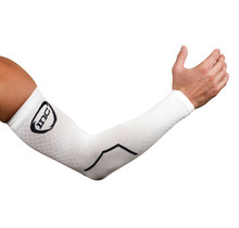 INC PRO Compressie Arm Sleeves - Wit / Zwart