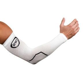 PRO Compressie Arm Sleeves - Wit / Zwart