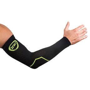 PRO Compressie Arm Sleeves - Zwart / Groen