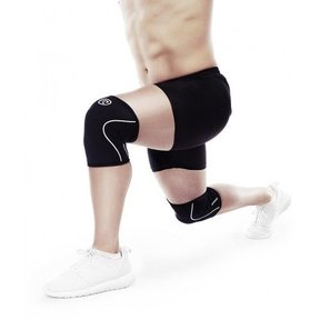 RX Knee sleeves 7 mm - Zwart