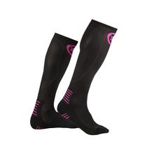 INC PRO Compressiekousen zwart / roze