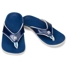 Slippers Yumi dames - Crackle navy