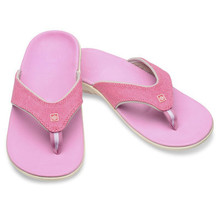Spenco Slippers Yumi dames - Canvas pink