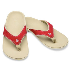 Slippers Yumi dames - True red