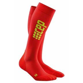 Pro run ultralight compressiekousen - rood/groen