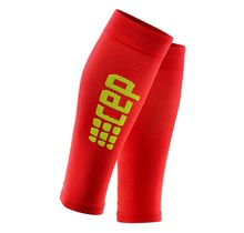 CEP Ultralight calf sleeves - rood/groen