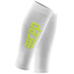 Ultralight calf sleeves - wit/groen