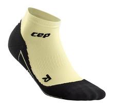 CEP compressie low-cut socks dames - lunges lemon