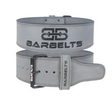 Barbelts Powerlift riem 10mm grijs