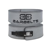 Barbelts Lever belt 10mm Grijs - powerlift riem
