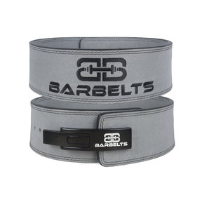 Lever belt 10mm Grijs - powerlift riem