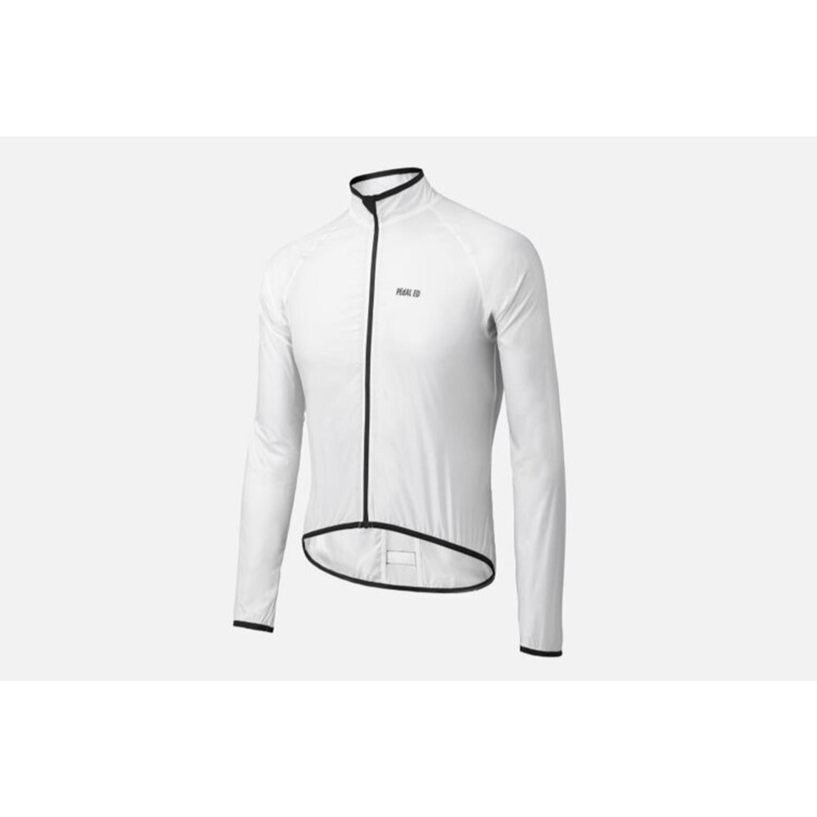 PEdALED PEdALED Vesper packable jacket M white