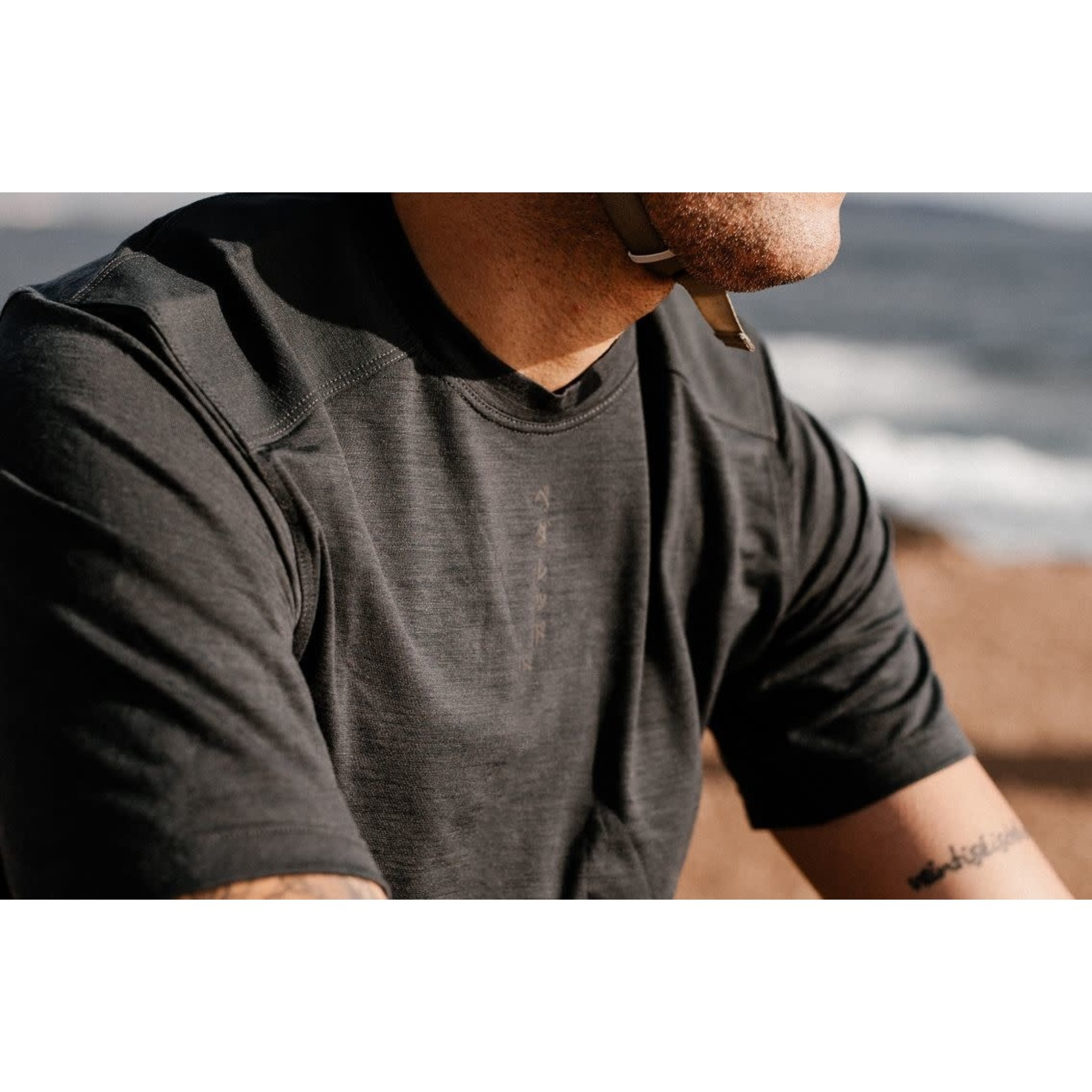 PEdALED PEdALED Jary Tee L charcoal grey