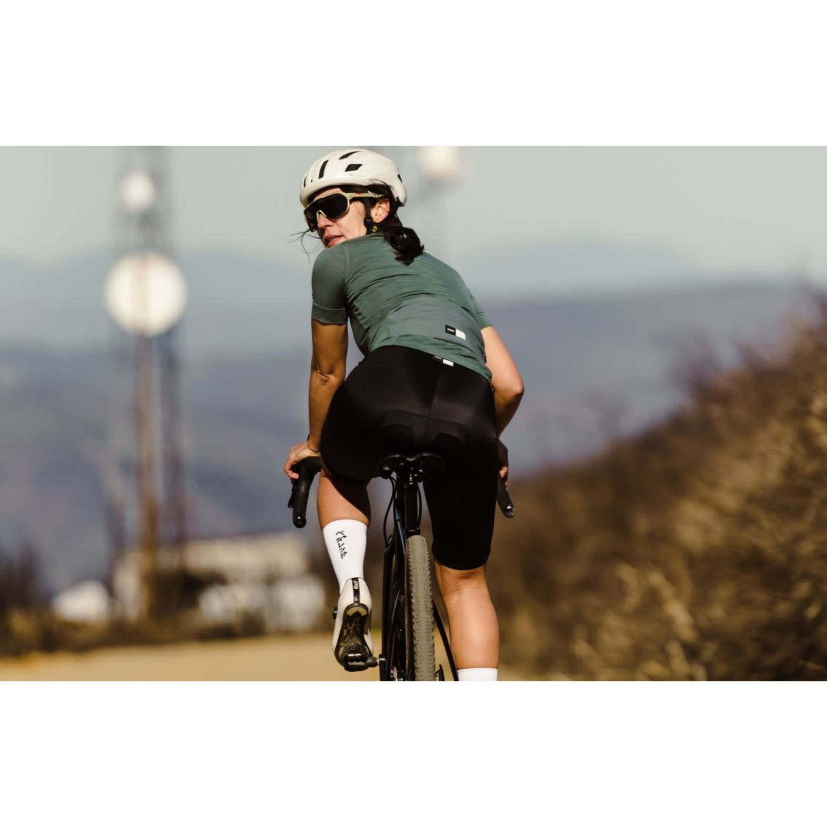 PEdALED PEdALED Essential Womens Jersey S forest green