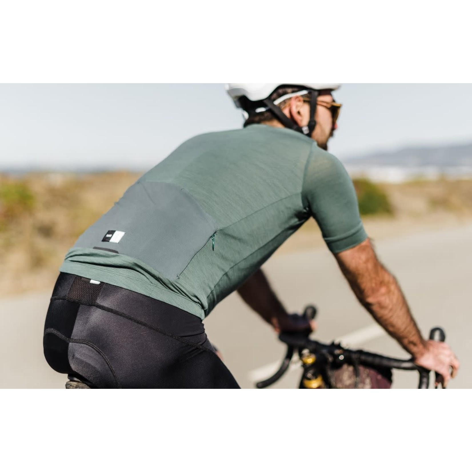 PEdALED PEdALED Essential Jersey S forest green