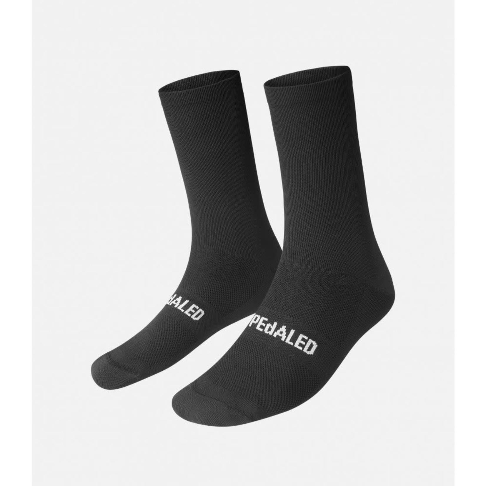 PEdALED PEdALED Mirai Logo Socks L black