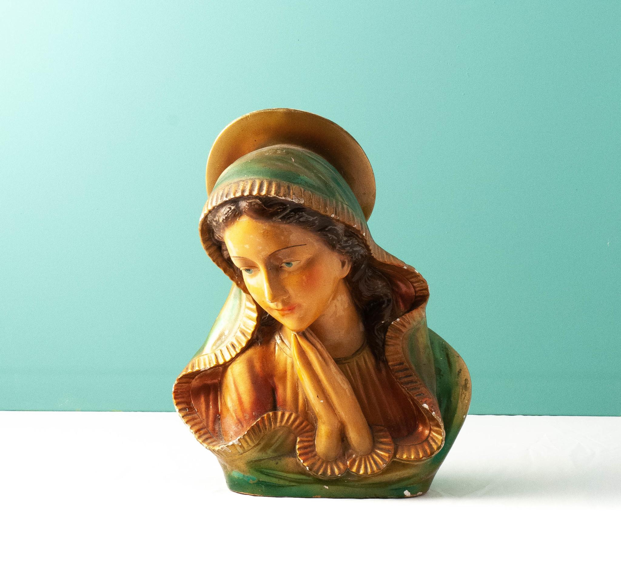 Mariabeeld (30cm hoog)-1