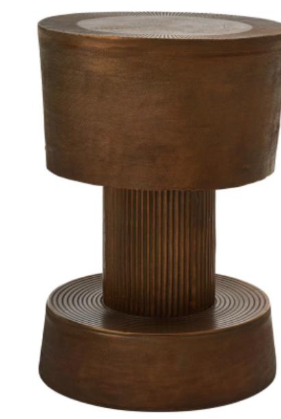 Metalen krukje 60 x 51 cm