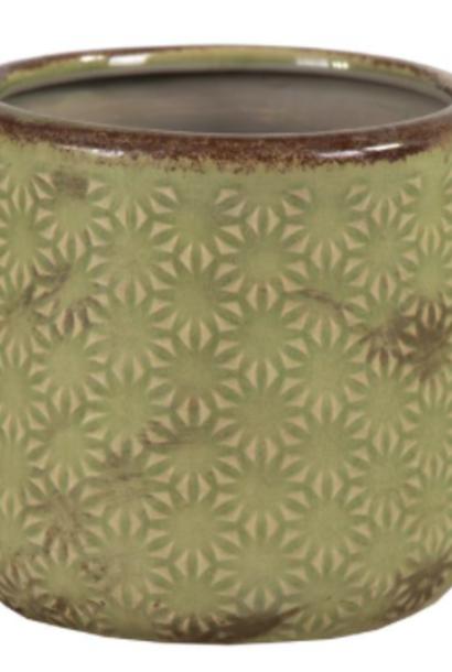 Pot Sophia d12,5cm h11cm kiwi