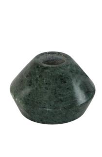Kandelaar rond groen marmer 5cm-1