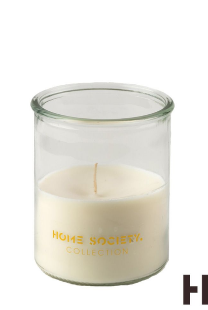 Outdoor candle white