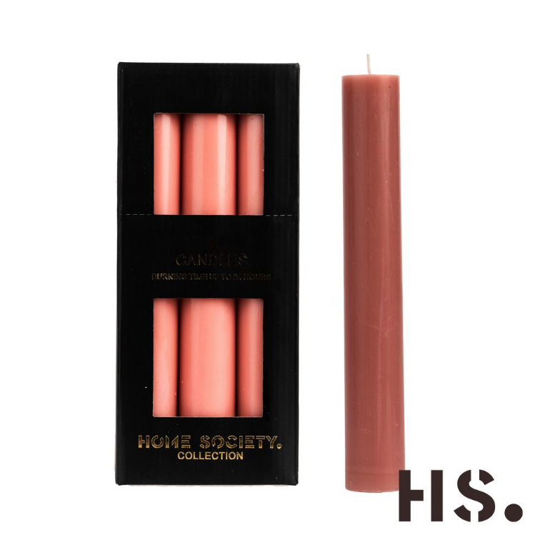 Dinner candle XL nude-1
