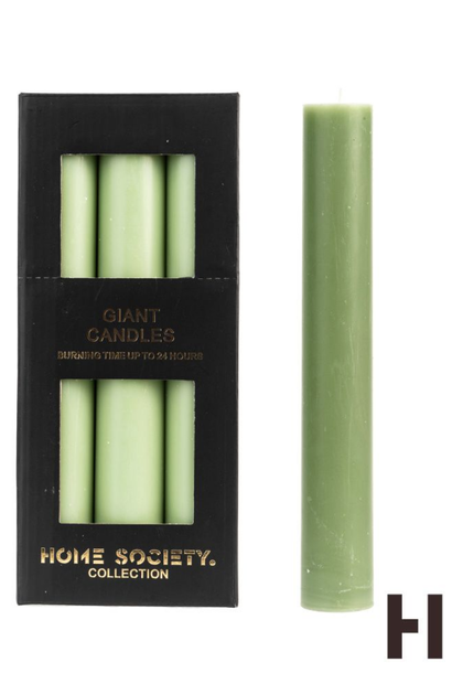 Dinner candle XL L