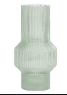 Vaas 19x35cm leila glas-1