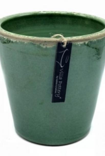 Bloempot Bastogne green 22x22cm