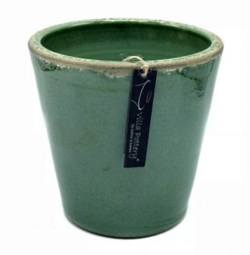 Bloempot Bastogne green 22x22cm-1
