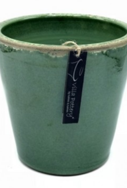 Bloempot Bastogne green 18x18cm